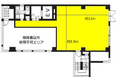 新宿スタジオ図面